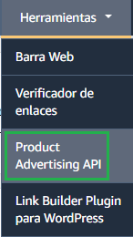 amazon afiliado api