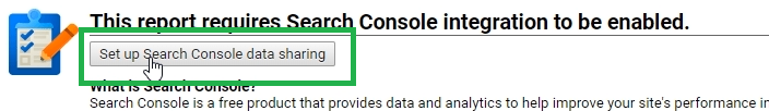 compartir data search console