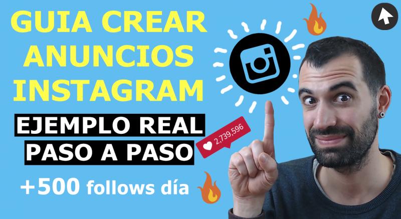 como crear publicidad y anuncios instagram