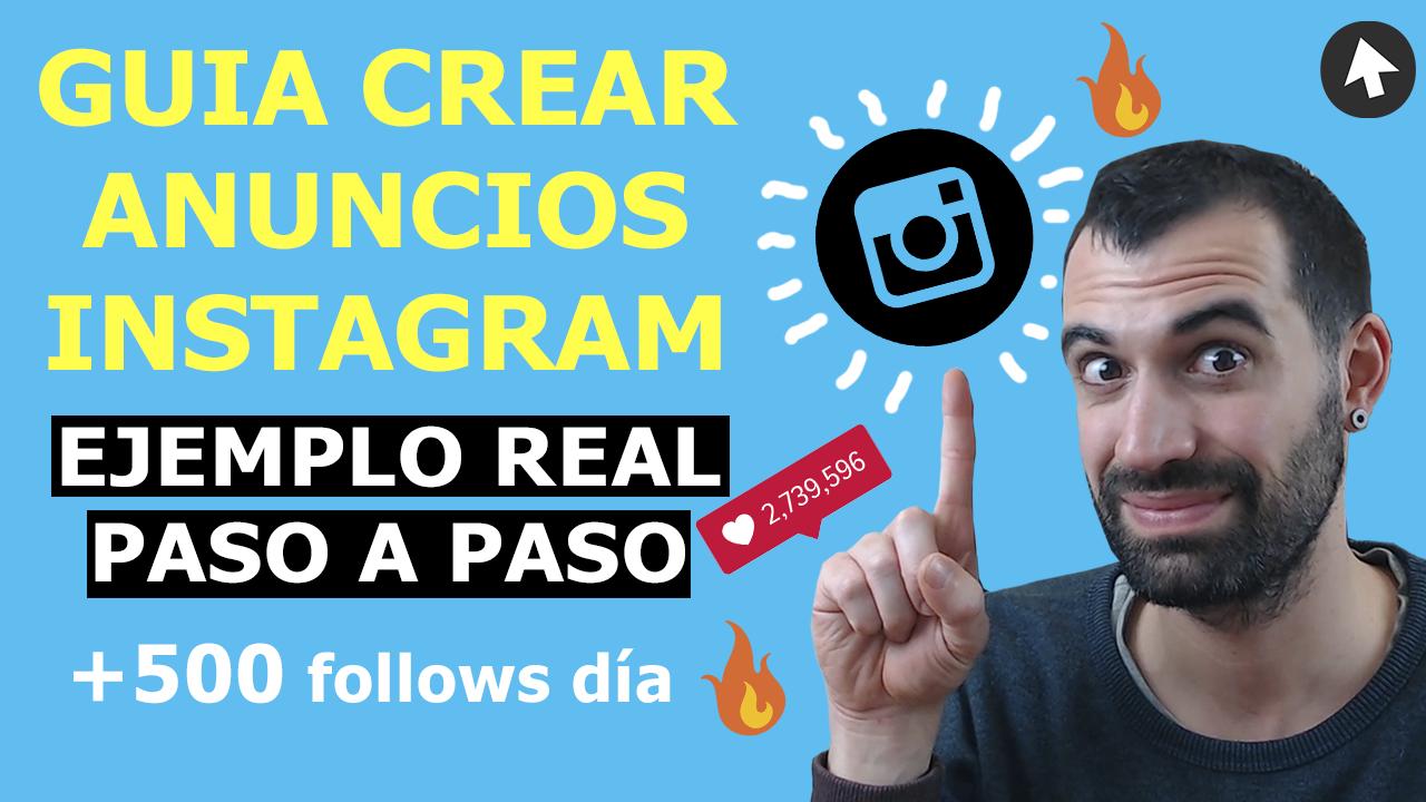 Crear Publicidad y Anuncios en Instagram