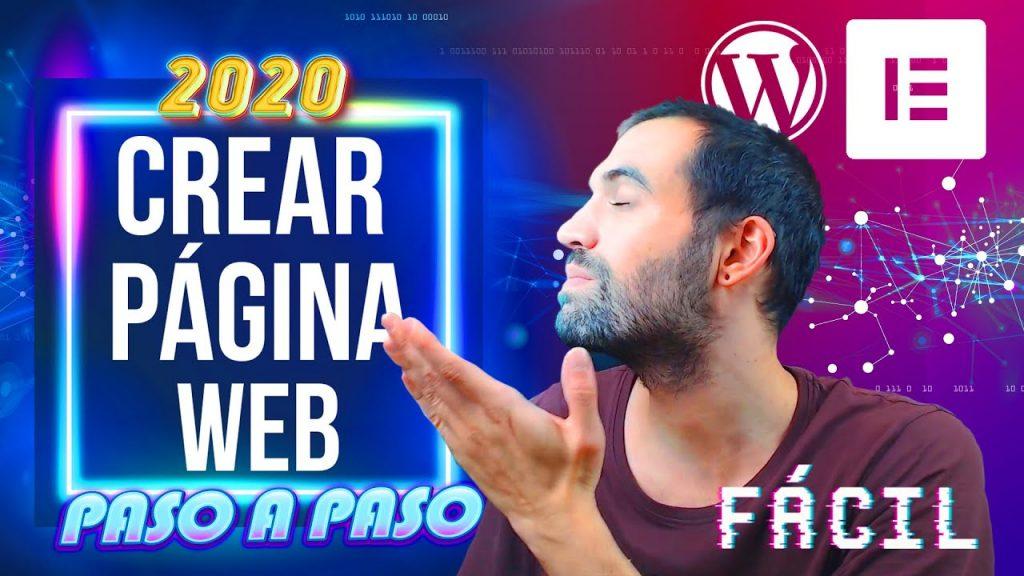 Crear una web en wordpress