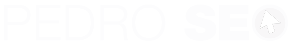 pedro seo logo blanco