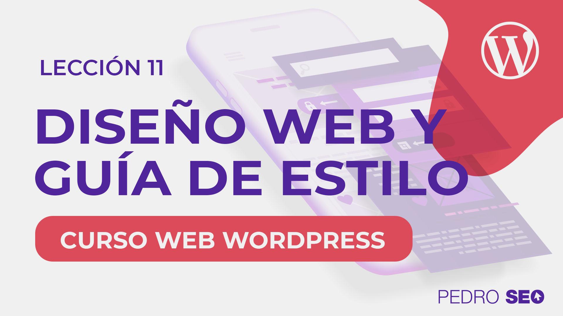 diseño web guia y estilo