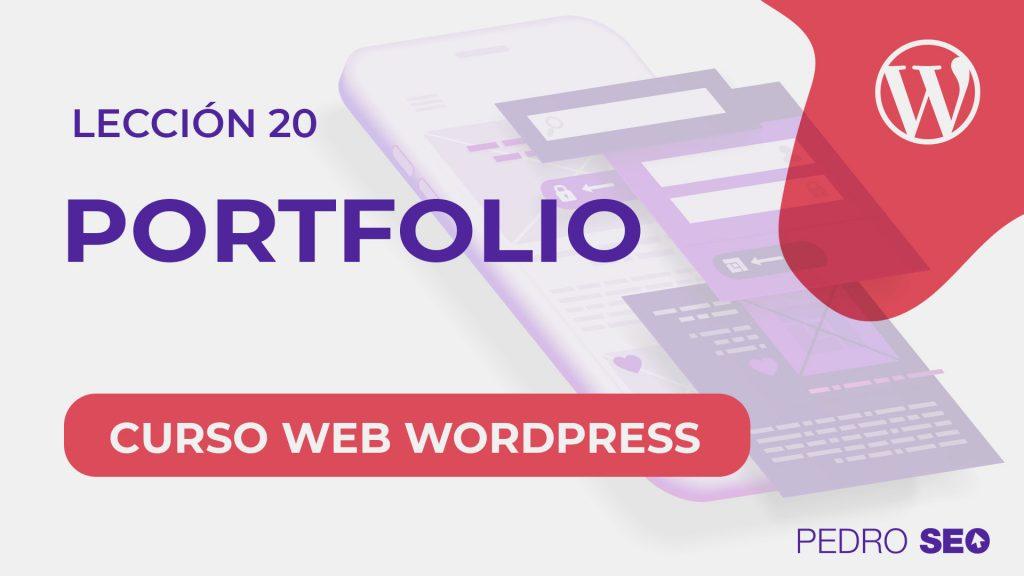 crear portfolio wordpress