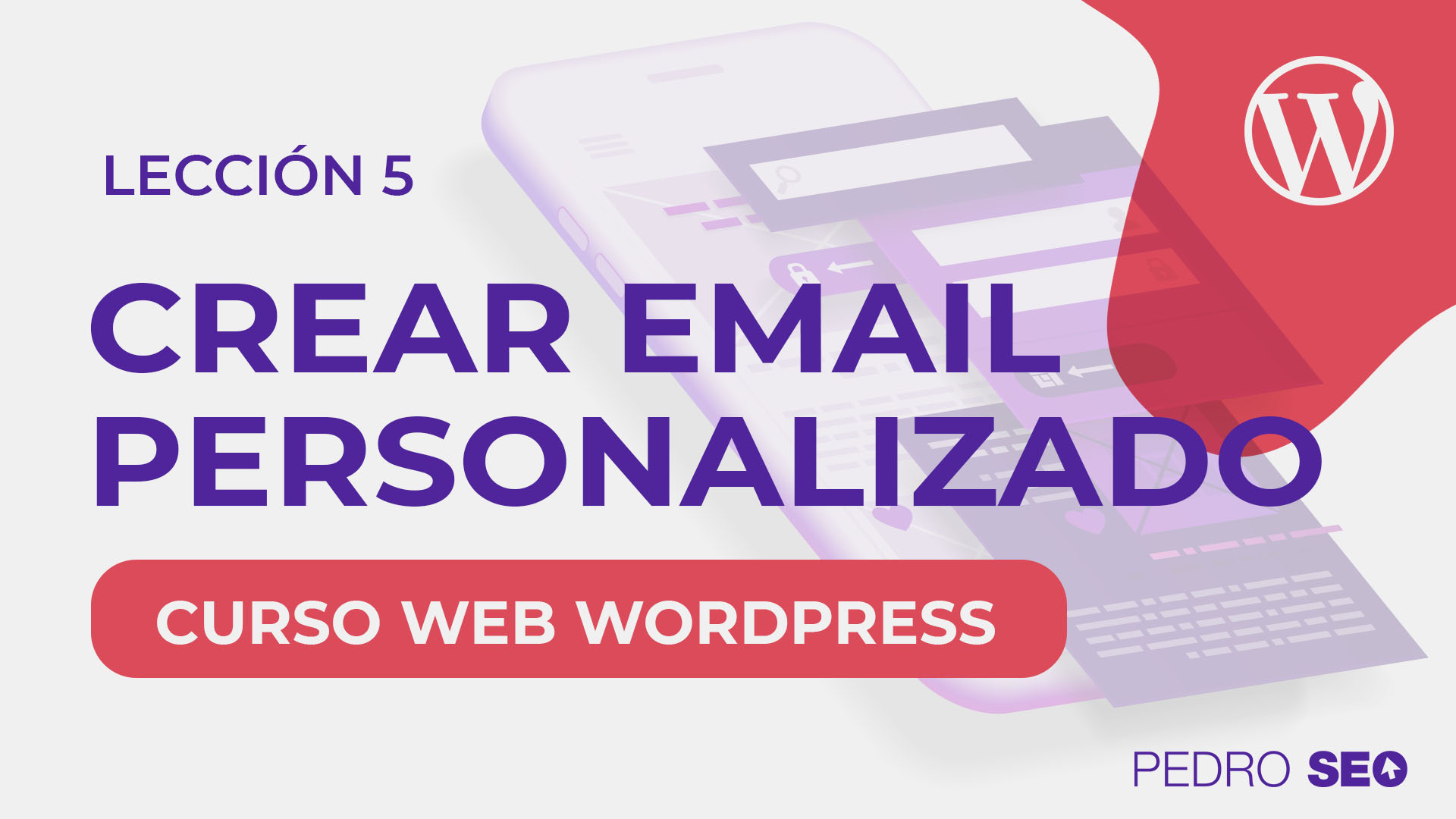 crear email personalizado